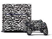 Sony PS4 PlayStation 4 Console Skin plus 2 Controller Skins -  Zebra W