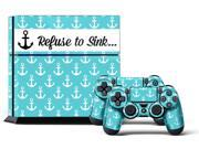 Sony PS4 PlayStation 4 Console Skin plus 2 Controller Skins - Holdfast