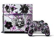 Sony PS4 PlayStation 4 Console Skin plus 2 Controller Skins - Luna