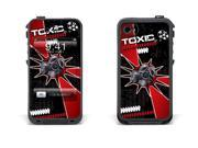 Skin for LifeProof Case for Apple iPhone 4/4s - Toxicity