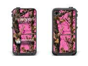 Skin for LifeProof Case for Apple iPhone 4/4s - Pink Camo