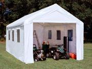 King Canopy 20 x 10 ft. Universal Enclosed Canopy Carport