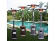 Garden Outdoor Patio Heater Propane Standing LP Gas Steel w/accessories