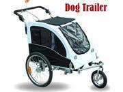 Pet Dog Bike Bicycle Elite II Trailer Stroller Jogger with Suspension