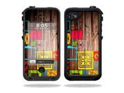 Mightyskins Protective Vinyl Skin Decal Cover for LifeProof iPhone 4 / 4S Case wrap sticker skins Wood You