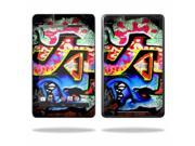 "Mightyskins Protective Skin Decal Cover for Asus Google Nexus 7 Tablet with 7"" screen wrap sticker skins Loud Graffiti"
