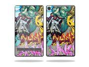 "Mightyskins Protective Skin Decal Cover for Asus Google Nexus 7"" (2013 - 2nd Generation) wrap sticker skins Graffiti Wild Styles"