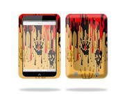"""Mightyskins Protective Skin Decal Cover for Barnes & Noble Nook HD 7"""" inch Tablet wrap sticker skins Dripping Blood"""