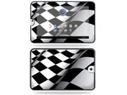 Mightyskins Protective Vinyl Skin Decal Cover for Toshiba Thrive 10.1 Android Tablet wrap sticker skins Checkered Flag