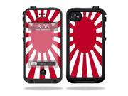 Mightyskins Protective Vinyl Skin Decal Cover for LifeProof iPhone 4 / 4S Case wrap sticker skins Rising Sun