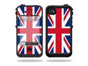 Mightyskins Protective Vinyl Skin Decal Cover for LifeProof iPhone 4 / 4S Case wrap sticker skins British Pride