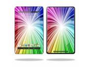 "Mightyskins Protective Skin Decal Cover for Asus Google Nexus 7 Tablet with 7"" screen wrap sticker skins Rainbow Explosion"