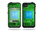 Mightyskins Protective Vinyl Skin Decal Cover for LifeProof iPhone 4 / 4S Case wrap sticker skins Circuit Board