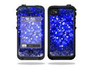 Mightyskins Protective Vinyl Skin Decal Cover for LifeProof iPhone 4 / 4S Case wrap sticker skins Hearts Explosion