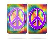 """MightySkins Protective Skin Decal Cover for Lenovo IdeaPad A1 7"""" inch Tablet Sticker Skins Hippie Time"""