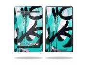 "Mightyskins Protective Skin Decal Cover for Asus Google Nexus 7 Tablet with 7"" screen wrap sticker skins Graffiti Tagz"