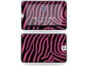 MightySkins Protective Vinyl Skin Decal Cover for Toshiba Thrive 10.1 Android Tablet sticker skins Zebra Pink