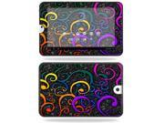 Mightyskins Protective Vinyl Skin Decal Cover for Toshiba Thrive 10.1 Android Tablet wrap sticker skins Color Swirls