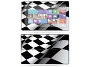 "Mightyskins Protective Skin Decal Cover for Microsoft Surface RT Tablet 10.6"" screen wrap sticker skins Checkered Flag"