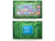 "Mightyskins Protective Skin Decal Cover for Microsoft Surface RT Tablet 10.6"" screen wrap sticker skins Circuit Board"