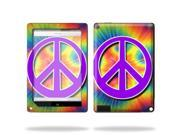 """Mightyskins Protective Skin Decal Cover for Barnes & Noble Nook HD+ 9"""" inch Tablet wrap sticker skins Hippie Time"""