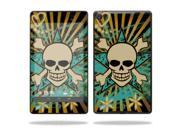 "Mightyskins Protective Skin Decal Cover for Asus Google Nexus 7"" (2013 - 2nd Generation) wrap sticker skins Skull Rays"