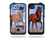 Mightyskins Protective Vinyl Skin Decal Cover for LifeProof iPhone 4 / 4S Case wrap sticker skins Horse