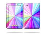 """MightySkins Protective Skin Decal Cover for Lenovo IdeaPad A1 7"""" inch Tablet Sticker Skins Rainbow Zoom"""