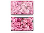 """Mightyskins Protective Vinyl Skin Decal Cover for Samsung Series 7 Slate 11.6"""" Inch Tablet wrap sticker skins Pink Roses"""