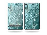 """Mightyskins Protective Skin Decal Cover for Asus Google Nexus 7"""" (2013 - 2nd Generation) wrap sticker skins Butterfly Blues"""
