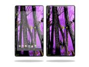 "Mightyskins Protective Skin Decal Cover for Asus Google Nexus 7"" (2013 - 2nd Generation) wrap sticker skins Purple Tree Camo"