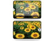 Mightyskins Protective Vinyl Skin Decal Cover for Toshiba Thrive 10.1 Android Tablet wrap sticker skins Sunflowers