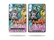 "Mightyskins Protective Skin Decal Cover for Asus Google Nexus 7 Tablet with 7"" screen wrap sticker skins Graffiti Wild Styles"