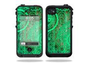MightySkins Protective Vinyl Skin Decal Cover for LifeProof iPhone 4 / 4S Case Sticker Skins Vintage Paisley