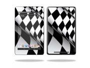 "MightySkins Protective Skin Decal Cover for Asus Google Nexus 7 Tablet with 7"" screen Sticker Skins Checkered Flag"