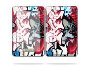 """MightySkins Protective Skin Decal Cover for Lenovo IdeaPad A1 7"""" inch Tablet Sticker Skins Graffiti Mash Up"""