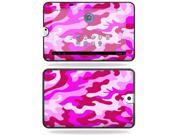 Mightyskins Protective Vinyl Skin Decal Cover for Toshiba Thrive 10.1 Android Tablet wrap sticker skins Pink Camo