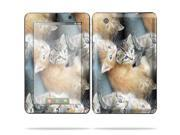 """MightySkins Protective Skin Decal Cover for Lenovo IdeaPad A1 7"""" inch Tablet Sticker Skins Kittens"""