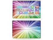 "Mightyskins Protective Skin Decal Cover for Microsoft Surface RT Tablet 10.6"" screen wrap sticker skins Rainbow Explosion"