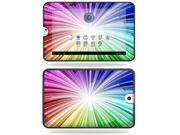 Mightyskins Protective Vinyl Skin Decal Cover for Toshiba Thrive 10.1 Android Tablet wrap sticker skins Rainbow Exp