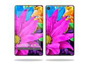 "Mightyskins Protective Skin Decal Cover for Asus Google Nexus 7"" (2013 - 2nd Generation) wrap sticker skins Colorful Flowers"