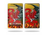 "Mightyskins Protective Skin Decal Cover for Asus Google Nexus 7 Tablet with 7"" screen wrap sticker skins Dragon Breath"