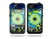 MightySkins Protective Vinyl Skin Decal Cover for LifeProof iPhone 4 / 4S Case Sticker Skins Flower Explosion