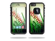 Mightyskins Protective Vinyl Skin Decal Cover for Lifeproof iPhone 6 Case fre Cover wrap sticker skins Softball