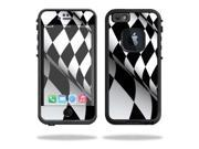 Mightyskins Protective Vinyl Skin Decal Cover for Lifeproof iPhone 6 Case fre Cover wrap sticker skins Checkered Flag
