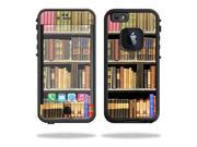 MightySkins Protective Vinyl Skin Decal Cover for Lifeproof iPhone 6 Case fre Cover Sticker Skins Books