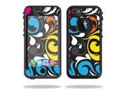 Mightyskins Protective Vinyl Skin Decal Cover for Lifeproof iPhone 6/6S Case fre Cover wrap sticker skins Swirly