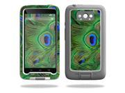 Mightyskins Protective Vinyl Skin Decal Cover for Lifeproof Motorola Droid Turbo Cover wrap sticker skins Peacock