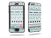MightySkins Protective Vinyl Skin Decal for Lifeproof iPhone 6 Nuud wrap cover sticker skins Turquoise Tribal