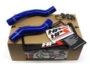 Toyota 92-95 Pickup 22RE HPS Blue High Temp Reinforced Silicone Radiator Hose Kit Coolant